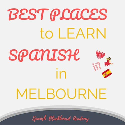 Best Places Learn Spanish Melbourne