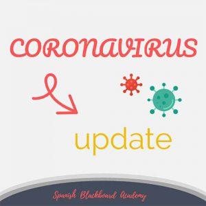 Coronavirus Update Australia - Spanish Blackboard Academy
