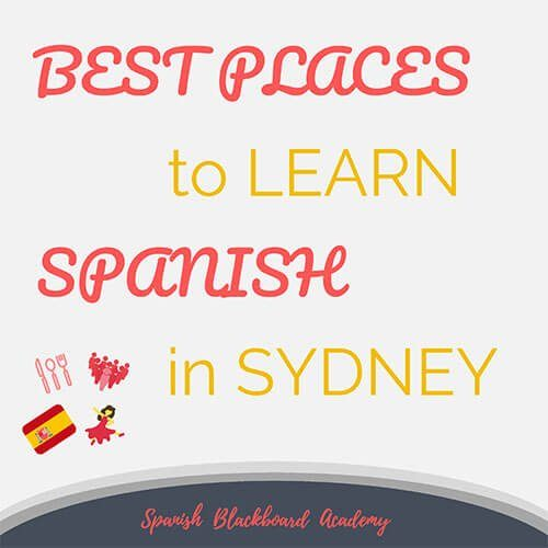 Best Places Learn Spanish Sydney